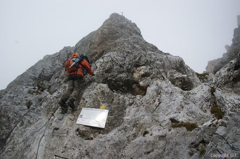 Klettersteig Innsbruck Nordkette : Nordkette innsbrucker klettersteig